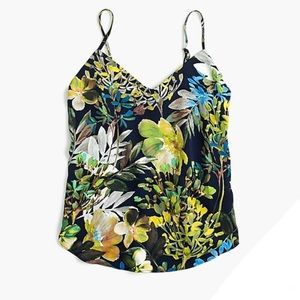 NWT J. Crew camisole in watercolor floral